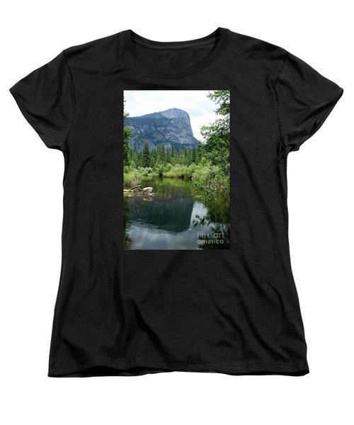Mirror Lake Women's T-Shirt (Standard Cut) by Henrik Lehnerer