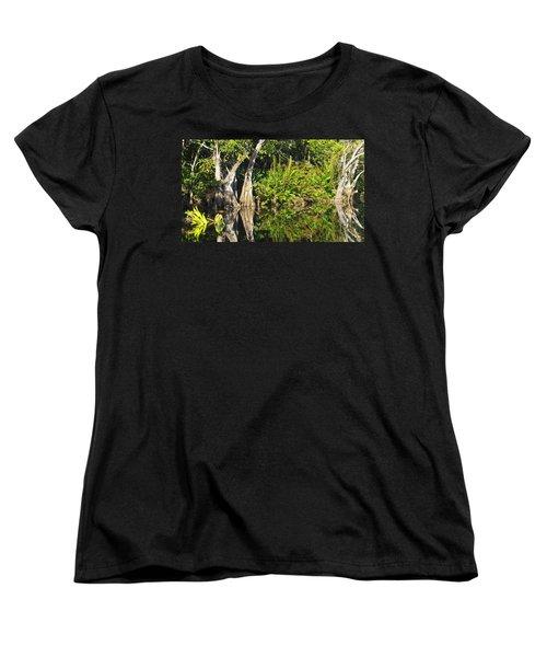 Mirror Pond Women's T-Shirt (Standard Cut) by Anne Mott
