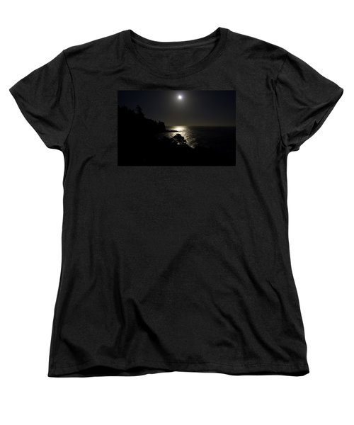 Moon Over Dor Women's T-Shirt (Standard Cut) by Brent L Ander