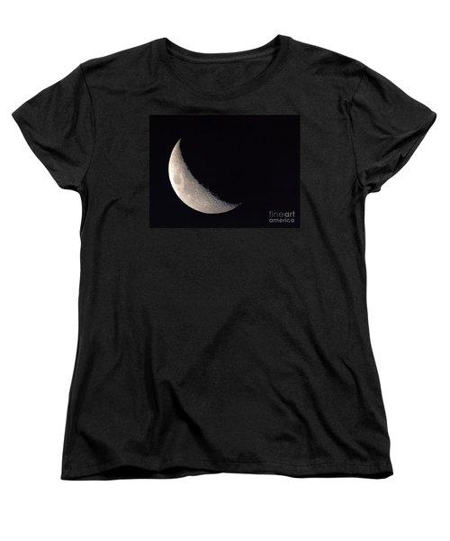 Moon Shadow Women's T-Shirt (Standard Cut) by Sue Stefanowicz