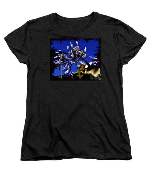 Morning Blooms Women's T-Shirt (Standard Cut) by Clayton Bruster