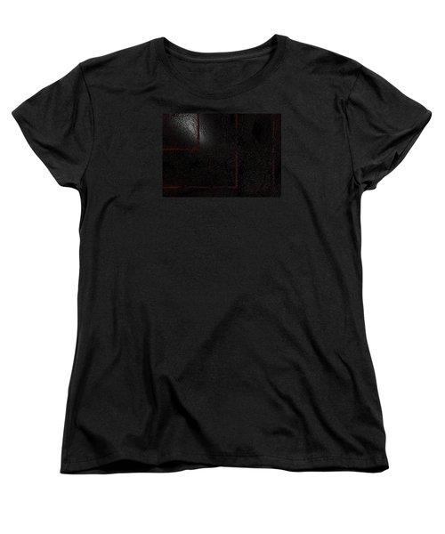 Women's T-Shirt (Standard Cut) featuring the digital art Muddy by Jeff Iverson