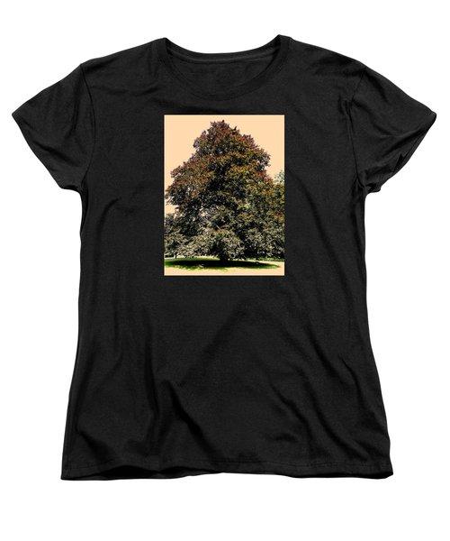 Women's T-Shirt (Standard Cut) featuring the photograph My Friend The Tree by Juergen Weiss