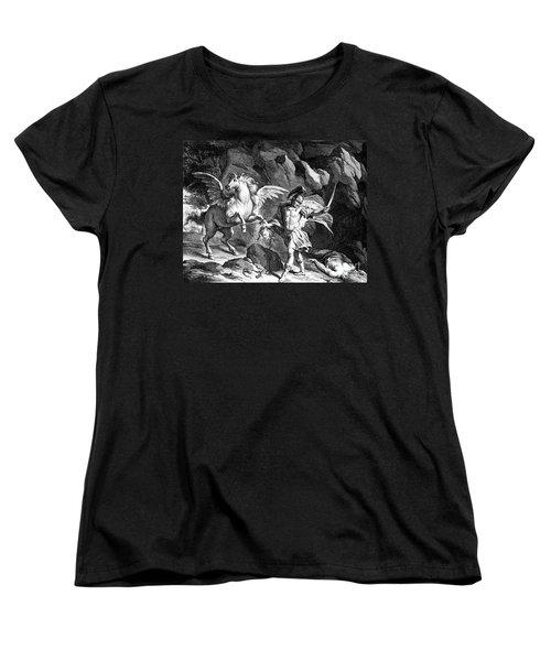 Mythology: Perseus Women's T-Shirt (Standard Cut) by Granger