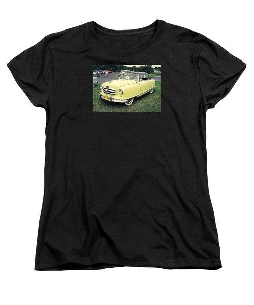 Women's T-Shirt (Standard Cut) featuring the photograph Nash Rambler by John Schneider