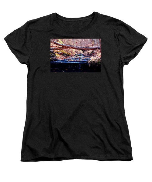 Women's T-Shirt (Standard Cut) featuring the photograph Natural Spring Beauty  by Peggy Franz
