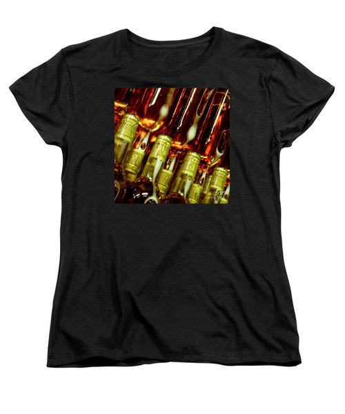 Women's T-Shirt (Standard Cut) featuring the photograph New Wine by Lainie Wrightson