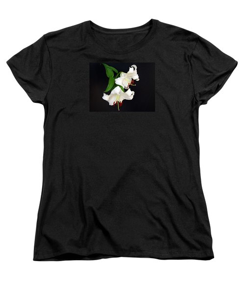 Women's T-Shirt (Standard Cut) featuring the photograph Newly Opened by Nick Kloepping