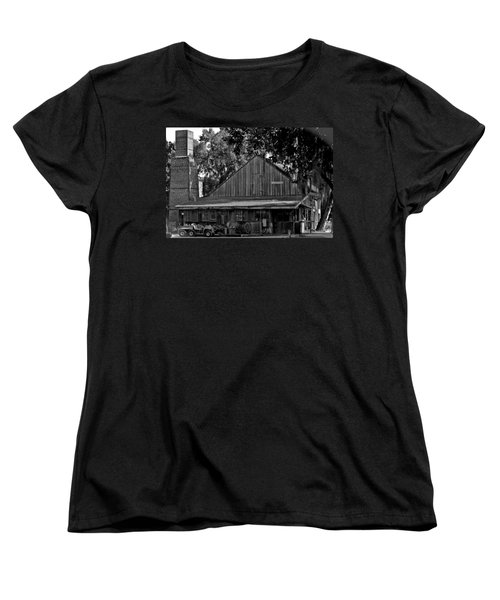 Women's T-Shirt (Standard Cut) featuring the photograph Old Spanish Sugar Mill by DigiArt Diaries by Vicky B Fuller