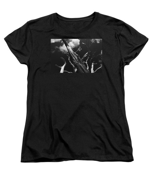 Women's T-Shirt (Standard Cut) featuring the photograph Old Tree by David Gleeson