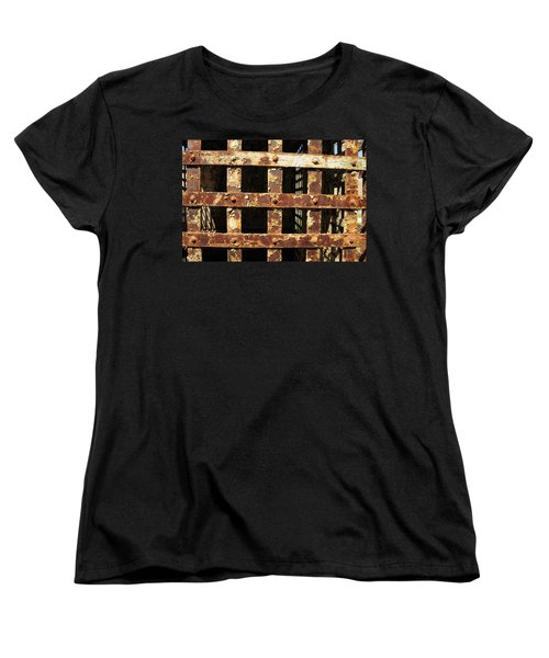 Women's T-Shirt (Standard Cut) featuring the photograph Outside Looking In by Fran Riley
