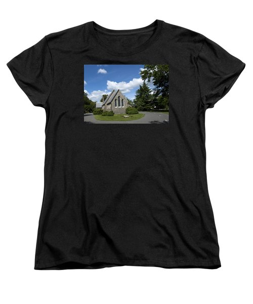 Women's T-Shirt (Standard Cut) featuring the photograph Oxford Church by Charles Kraus