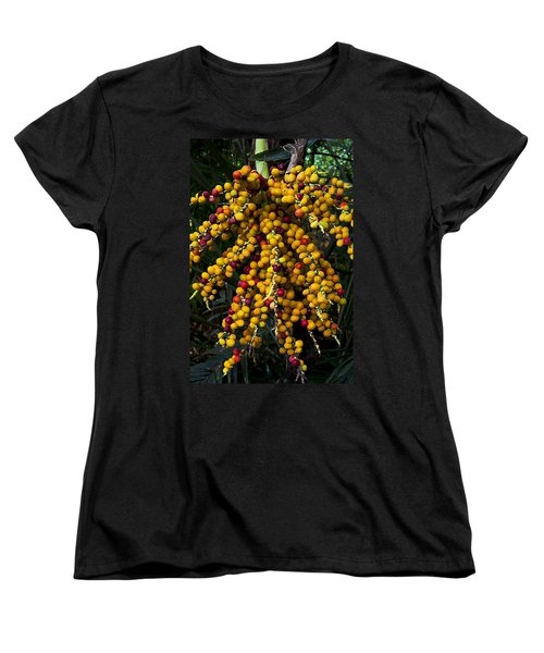 Women's T-Shirt (Standard Cut) featuring the photograph Palm Seeds Baroque by Steven Sparks