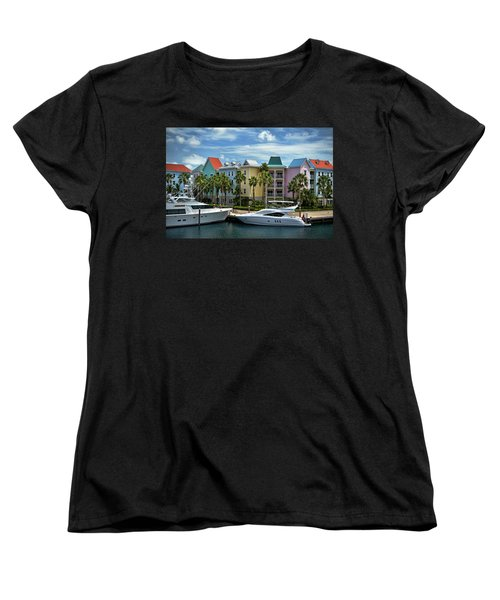 Women's T-Shirt (Standard Cut) featuring the photograph Paradise Island Style by Steven Sparks