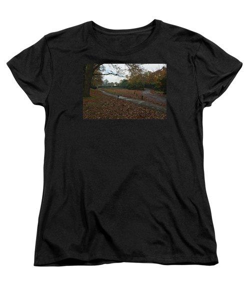Women's T-Shirt (Standard Cut) featuring the photograph Park Cottage 2 by Maj Seda