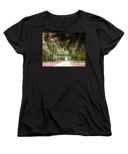 Parlange Plantation Circa 1750 New Roads La Women's T-Shirt (Standard Cut) by Lizi Beard-Ward