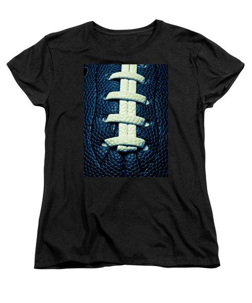 Pigskin Women's T-Shirt (Standard Cut) by Julia Wilcox