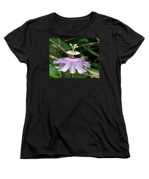 Women's T-Shirt (Standard Cut) featuring the photograph Plenty For All by Donna Brown