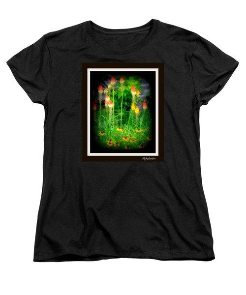 Poker Women's T-Shirt (Standard Cut) by Priscilla Richardson