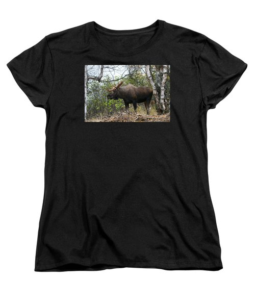 Women's T-Shirt (Standard Cut) featuring the photograph Poser by Doug Lloyd