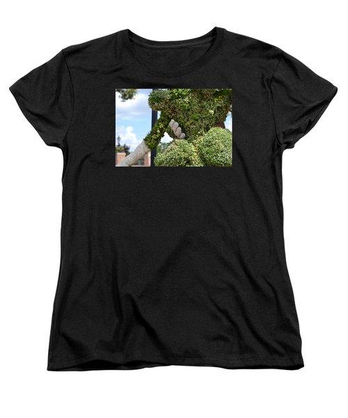 Pulling Her Close Women's T-Shirt (Standard Cut) by Bonnie Myszka