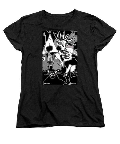 Rain Dance Women's T-Shirt (Standard Cut)