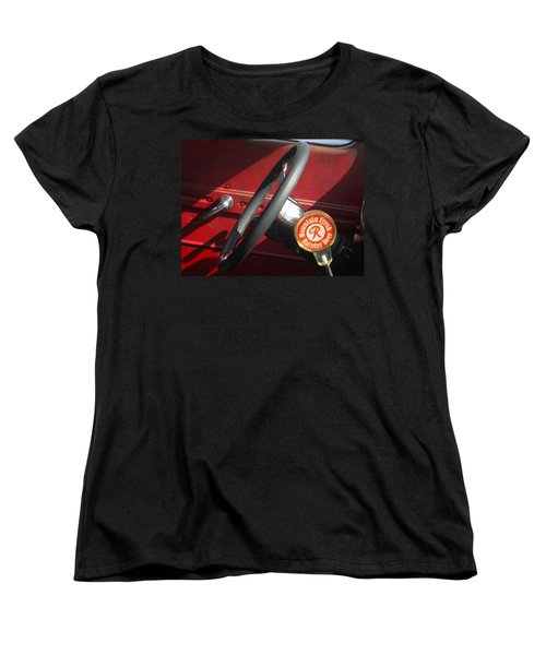 Women's T-Shirt (Standard Cut) featuring the photograph Rainier Stick Shift  by Kym Backland