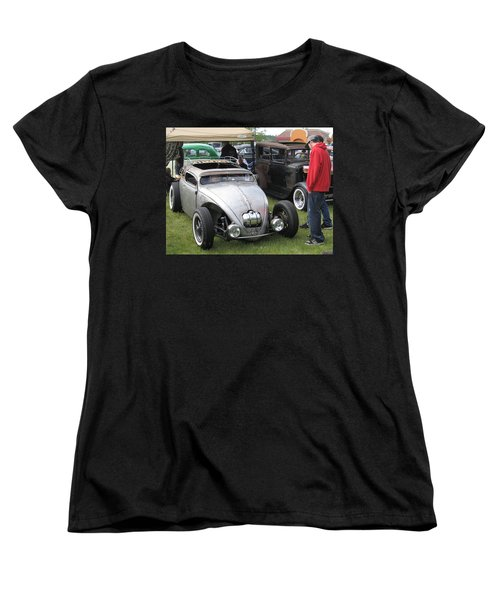 Women's T-Shirt (Standard Cut) featuring the photograph Rat Rod Many Parts by Kym Backland