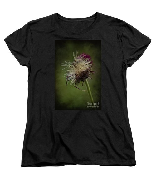 Women's T-Shirt (Standard Cut) featuring the photograph Ready To Fly Away... by Clare Bambers