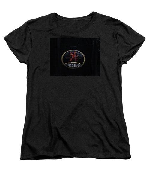 Red Dragon Women's T-Shirt (Standard Cut) by Ian Kowalski