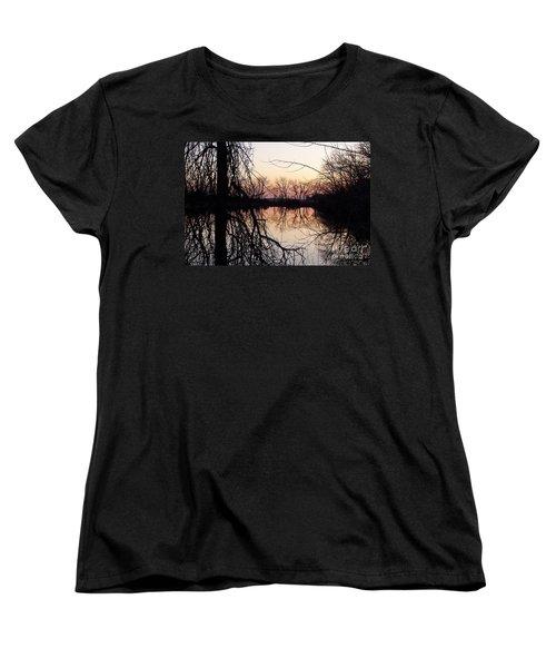 Reflections Women's T-Shirt (Standard Cut) by Dorrene BrownButterfield