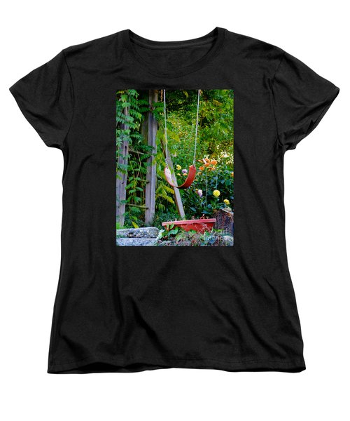 Women's T-Shirt (Standard Cut) featuring the photograph Remember... by Rory Sagner
