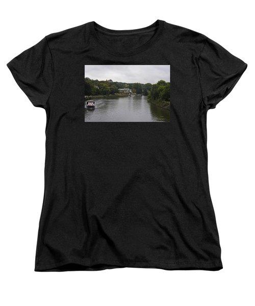 Women's T-Shirt (Standard Cut) featuring the photograph Richmond Cruise by Maj Seda