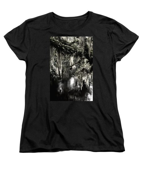 Women's T-Shirt (Standard Cut) featuring the photograph River Branch by Steven Sparks