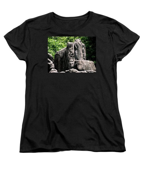 Rock Formation Women's T-Shirt (Standard Cut) by Maria Urso