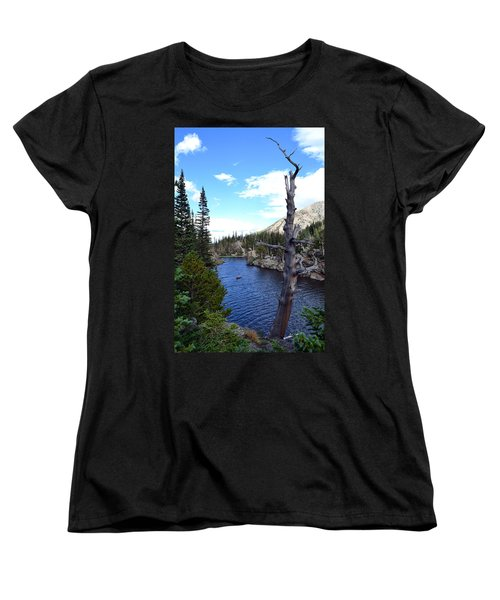 Women's T-Shirt (Standard Cut) featuring the photograph Rocky Mountain National Park1 by Zawhaus Photography