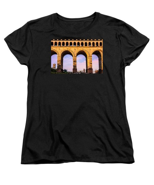 Roman Arches Women's T-Shirt (Standard Cut) by Semmick Photo