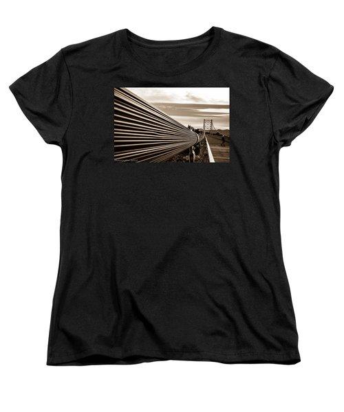 Women's T-Shirt (Standard Cut) featuring the photograph Royal Gorge Bridge by Shannon Harrington
