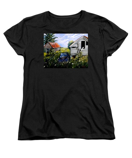 Rustic Partners Women's T-Shirt (Standard Cut) by Renate Nadi Wesley