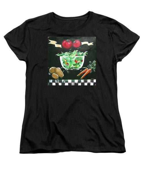 Salad Bowl Women's T-Shirt (Standard Cut)
