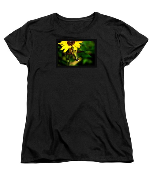 Women's T-Shirt (Standard Cut) featuring the photograph Saturday Morning by Susanne Still