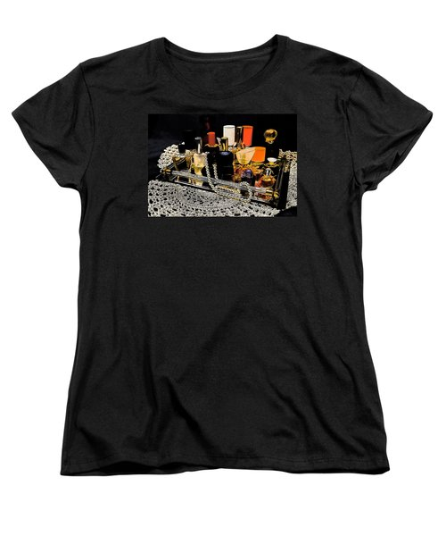 Women's T-Shirt (Standard Cut) featuring the photograph Scents Of A Woman II by DigiArt Diaries by Vicky B Fuller