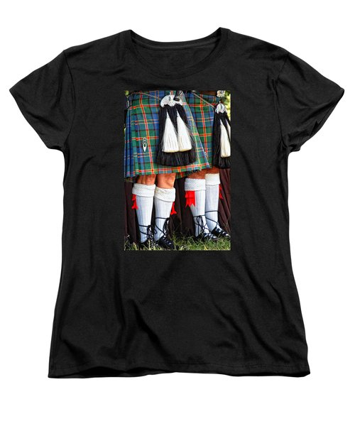 Scottish Festival 4 Women's T-Shirt (Standard Cut) by Dawn Eshelman