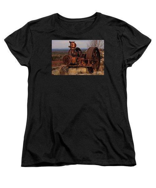 Scrap Me Not Women's T-Shirt (Standard Cut) by Susan Capuano