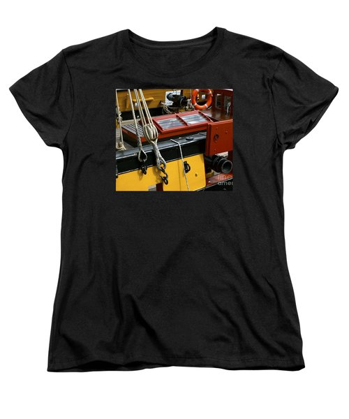 Women's T-Shirt (Standard Cut) featuring the photograph Sea Worthy by Elf Evans