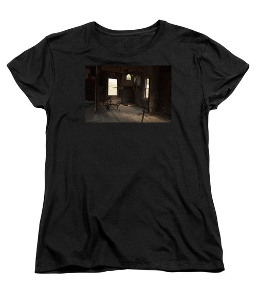 Women's T-Shirt (Standard Cut) featuring the photograph Shadows Of Time by Fran Riley