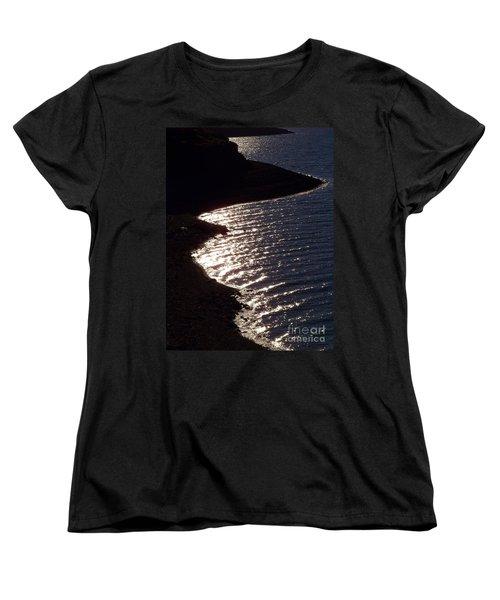 Shining Shoreline Women's T-Shirt (Standard Cut) by Dorrene BrownButterfield