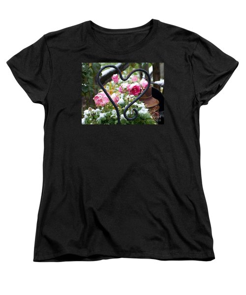Shot Through The Heart Women's T-Shirt (Standard Cut) by Dorrene BrownButterfield