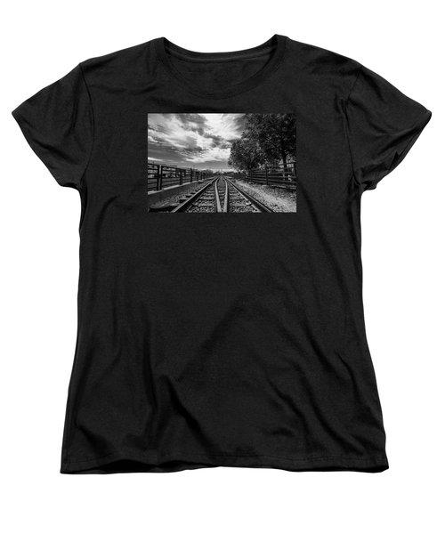 Silent Spur Women's T-Shirt (Standard Cut) by Tom Gort