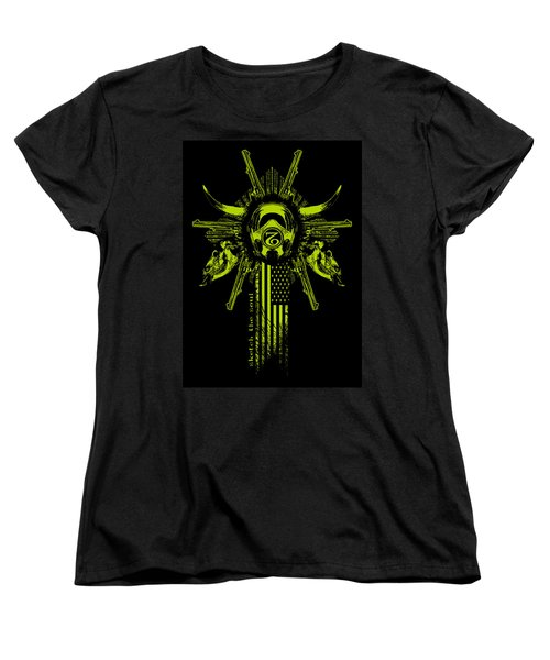 Six Shooter Women's T-Shirt (Standard Cut) by Tony Koehl